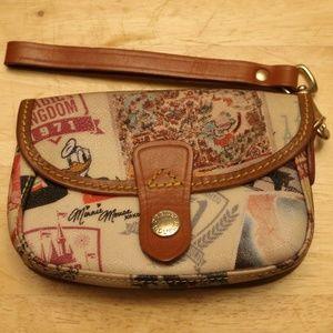 Dooney & Bourke Walt Disney World Wristlet